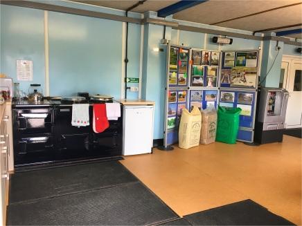 Kitchen facilities including an AGA