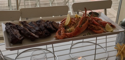 Lobster & steak surf n turf