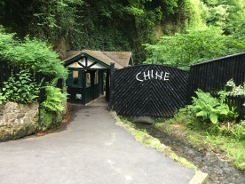 Entrance to the Chine