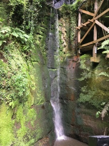 The gorge waterfall