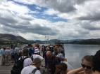 Queueing for the Ullswater Steamer