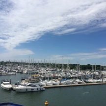 Arriving in Lymington