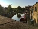 Canal outside Bizzie Lizzie's