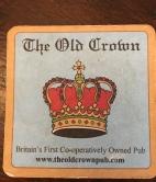 Souvenir beer mat!