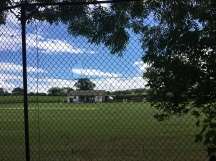 View of the village cricket field