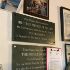 Prince Charles visited twice, must've really liked it