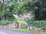 Gate to the quarry