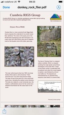Donkey Rock quarry