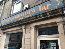 Quick flyer at the Ramsbottom Tap